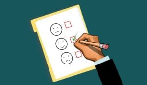 business checklist graphic representing customer experience