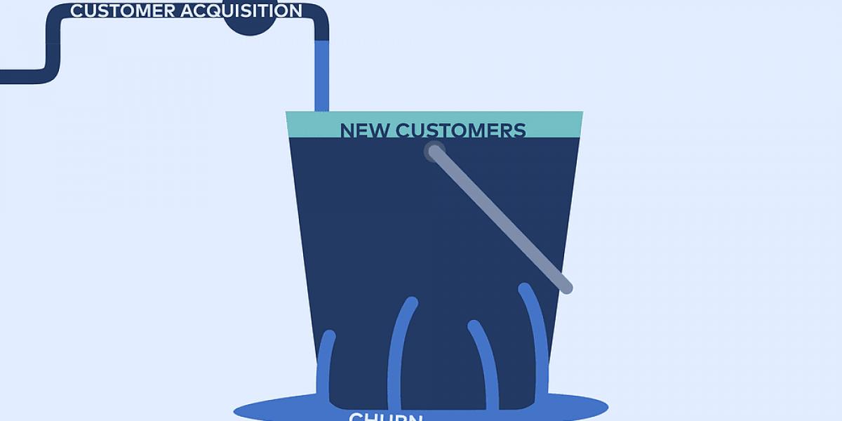 customer churn illustration